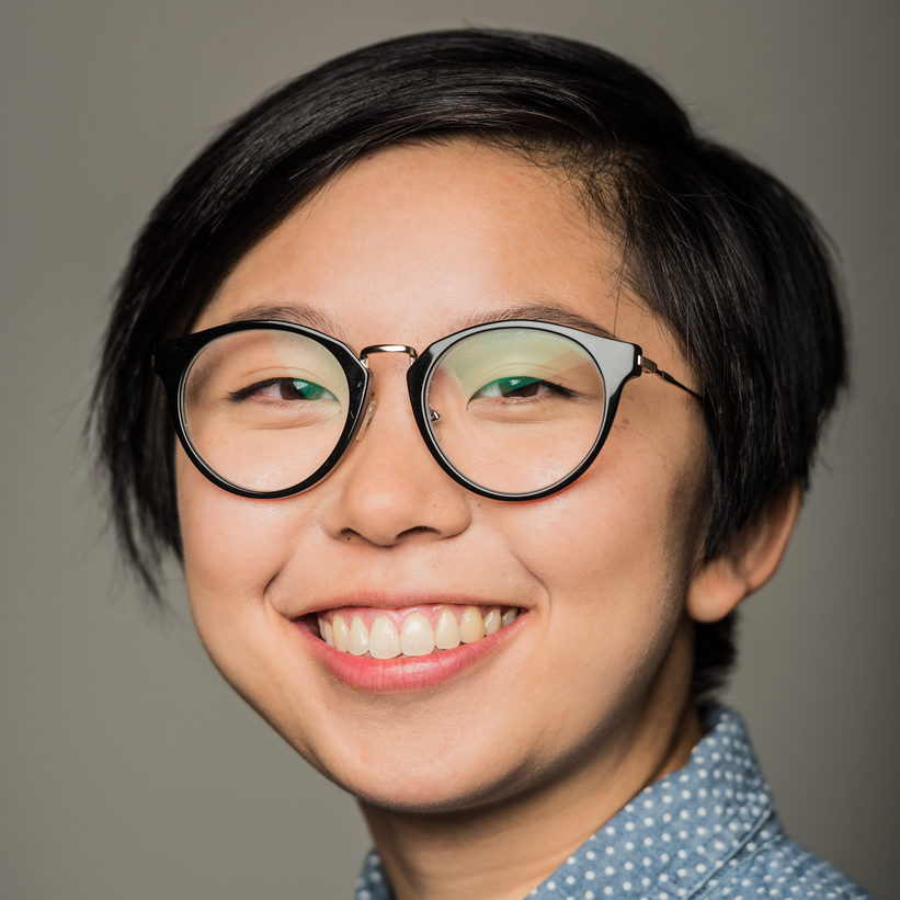 Gloria Mok, production manager and technical director